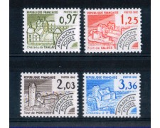 1982 - LOTTO/FRAP177CPN - FRANCIA - PREANNULLATI  MONUMENTI 4v. - NUOVI