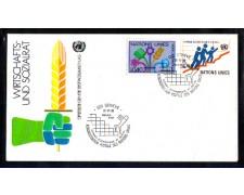 1980 - LOTTO/ONUS95FDC - ONU SVIZZERA - CONSIGLIO ECONOMICO - BUSTA FDC