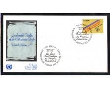 1981 - LOTTO/ONUS96FDC - ONU SVIZZERA - POPOLO PALESTINESE - BUSTA FDC