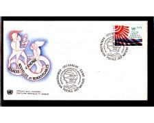 1981 - LOTTO/ONUS100FDC - ONU SVIZZERA - SORGENTI ENERGETICHE - BUSTA FDC