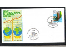 1980 - LOTTO/ONUA8FDC - ONU AUSTRIA - NUOVO ORDINE ECONOMICO - BUSTA FDC