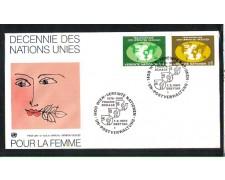 1980 - LOTTO/ONUA10FDC - ONU AUSTRIA - DECENNALE PER LA DONNA - BUSTA FDC