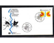 1980 - LOTTO/ONUA11FDC - ONU AUSTRIA - MANTENIMENTO DELLA PACE - BUSTA FDC