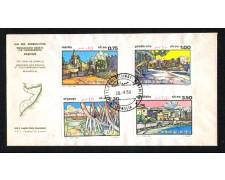 1980 - LBF/2761FDC - SOMALIA - PAESAGGI SOMALI 4v. - BUSTA FDC