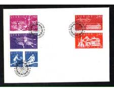 1981 - LOTTO/SVE1149FDC - SVEZIA - LA SVEZIA NEL MONDO - BUSTA FDC