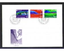 1982 - LOTTO/LIE742FDC - LIECHTENSTEIN - MONDIALI DI CALCIO - BUSTA FDC