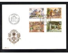 1981 - LOTTO/LIE724FDC - LIECHTENSTEIN - CASTELLO DI GUTEMBERG - BUSTA FDC
