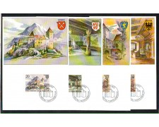 1981 - LOTTO/LIE724MAX - LIECHTENSTEIN - CASTELLO DI GUTEMBERG - CART. MAXIMUM