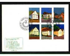 1978 - LOTTO/LIE646FDC - LIECHTENSTEIN - EDIFICI - BUSTA FDC