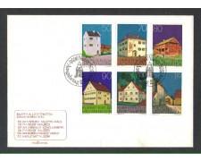 1978 - LOTTO/LIE638FDC - LIECHTENSTEIN - EDIFICI - BUSTA FDC
