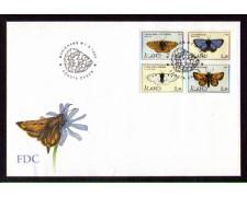 1994 - LOTTO/ALA85FDC - ALAND - FARFALLE - BUSTA FDC