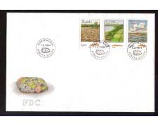 1994 - LOTTO/ALA81FDC - ALAND - ROCCE - BUSTA FDC