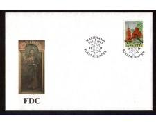 1993 - LOTTO/ALA78FDC - ALAND - CHIESA DI SOTTUNGA - BUSTA FDC