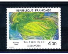 1984 - LOTTO/FRA2307N - FRANCIA - 4 Fr. JEAN MESSAGIER - NUOVO