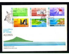 1980 - LOTTO/AZO8FDC - AZZORRE - CONFERENZA TURISMO - BUSTA FDC