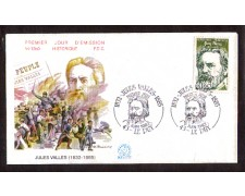 1982 - LOTTO/FRA2215FDC - FRANCIA - J.VALLES - BUSTA FDC