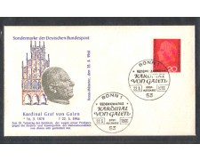 1966 - LOTTO/GF363FDC - GERMANIA FED. - CARDINALE VON GALEN - BUSTA FDC