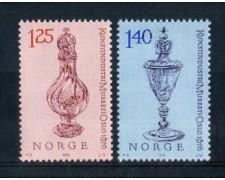 1976 - LOTTO/NORV679CPN - NORVEGIA - CENTENARIO MUSEO DI OSLO - NUOVI