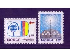 1975 - LOTTO/NORV669CPN - NORVEGIA - RADIO NORVEGESE - NUOVI