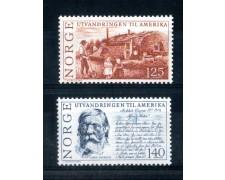 1975 - LOTTO/NORV664CPN - NORVEGIA - EMIGRAZIONE NORVEGESE - NUOVI
