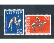1970 - LOTTO/NORV574CPN - NORVEGIA - SCUOLA DI GINNASTICA - NUOVI