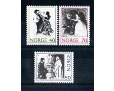 1971 - LOTTO/NORV588CPN - NORVEGIA - RACCONTI POPOLARI - NUOVI