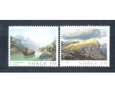 1974 - LOTTO/NORV638CPN - NORVEGIA - QUADRI 2v.- NUOVI