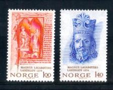 1974 - LOTTO/NORV640CPN - NORVEGIA - RE MAGNUS LAGABOTERS - NUOVI
