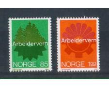 1974 - LOTTO/NORV642CPN - NORVEGIA - SICUREZZA SUL LAVORO - NUOVI