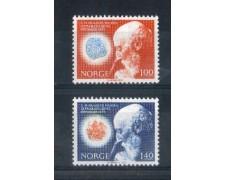 1973 - LOTTO/NORV615CPN - NORVEGIA - BACILLO DELLA LEBBRA 2v. - NUOVI