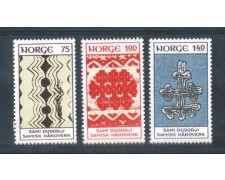 1973 - LOTTO/NORV626CPN - NORVEGIA - ARTIGIANATO LAPPONE - NUOVI