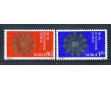 1972 - LOTTO/NORV595CPN - NORVEGIA - CASSE DI RISPARMIO - NUOVI