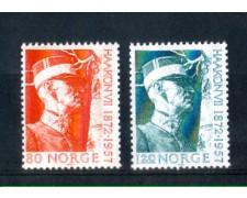 1972 - LOTTO/NORV603CPN - NORVEGIA -  RE HAAKON - NUOVI