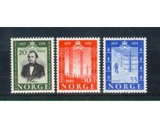 1954 - LOTTO/NORV354CPN - NORVEGIA - PRIMA LINEA TELEGRAFICA - NUOVI
