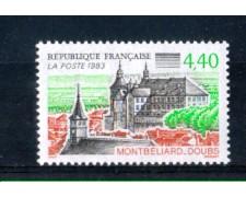 1993 - LOTTO/FRA2819N - FRANCIA - CASTELLO MONTBELIARD - NUOVI