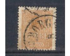 1862 - LOTTO/SVE12U2 - SVEZIA - 3 o. BISTRO - USATO