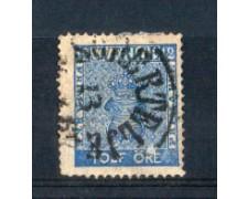 1858 - LOTTO/SVE8U1 - SVEZIA - 12 ORE AZZURRO - USATO