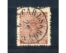 1858 - LOTTO/SVE10U - SVEZIA - 30 ORE BRUNO - USATO