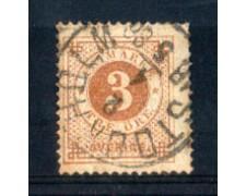 1872 - LOTTO/SVE16U - SVEZIA - 3 ORE BISTRO - USATO
