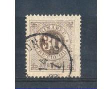 1872 - LOTTO/SVE23U - SVEZIA - 30 ORE BRUNO - USATO