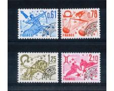 1978 - LOTTO/FRAP157CPN - FRANCIA - PREANNULLATI SEGNI ZODIACO 3° SERIE  4v.