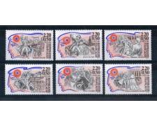 1989 - LOTTO/FRA2563ACPN - FRANCIA - PERSONAGGI DELLA RIVOLUZIONE FRANCESE  6v. - NUOVI