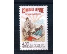 1991 - LOTTO/FRA2685N - FRANCIA - 4 Fr. CONCORSO LEPINE - NUOVO