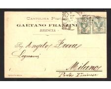 BRESCIA - 1902 - LBF/1362 - GAETANO FRANZINI BRESCIA