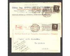 GENOVA - 1931/32 - LBF/1358 - DITTA ING. IPPOLITO CATTANEO FORNITURE PER FOTOGRAFIA