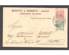 GARBAGNATE MILANESE - 1922 - LBF/1353 - BERETTA E GIANOTTII LATERIZI