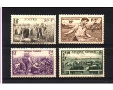 1940 - LOTTO/FRA469CPL - FRANCIA - PRO SOCCORSO NAZIONALE  - LINGUELLATI