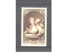 1939 - LOTTO/FRA446L - FRANCIA - PRO MUSEO POSTALE - LINGUELLATO