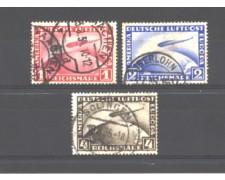1928 - LOTTO/GERA37CPU - GERMANIA REICH - POSTA AEREA ZEPPELIN - USATI
