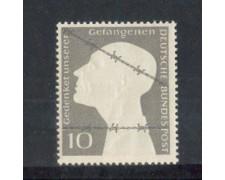 1953 - LOTTO/10497 - GERMANIA FEDERALE - 10p. PRIGIONIERI DI GUERRA - NUOVO